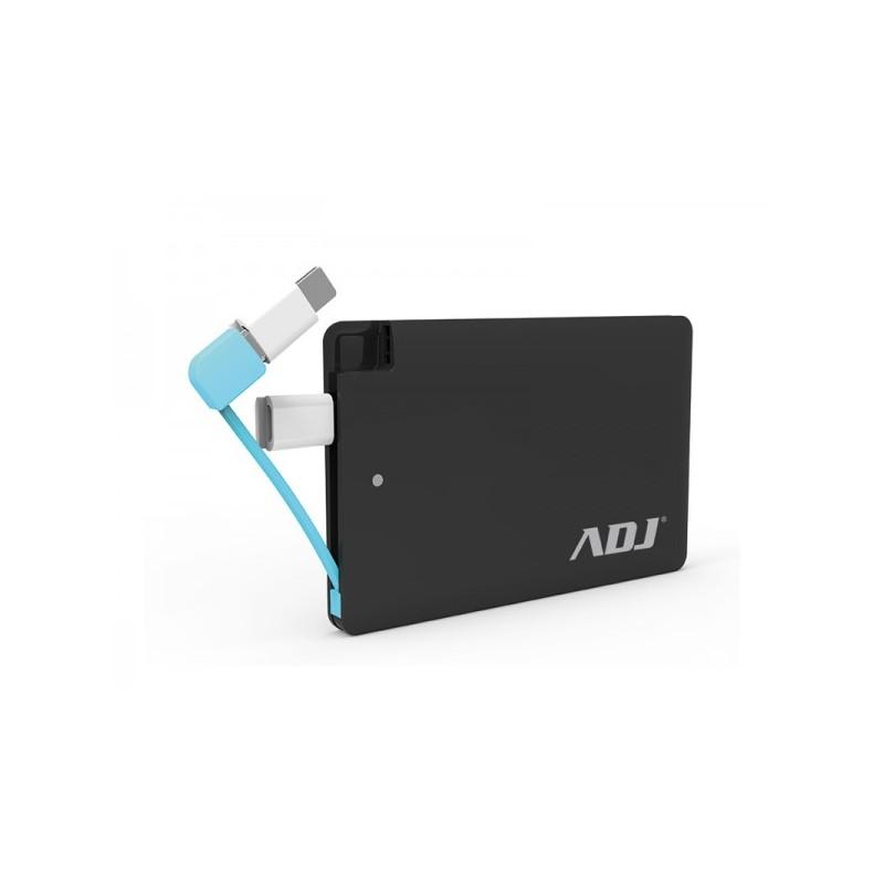 Blade Power Bank ADJ 3200mAh per ricaricare diversi tipi di periferiche dotate di porta USB - con cavo micro USB 5V/1A e connett