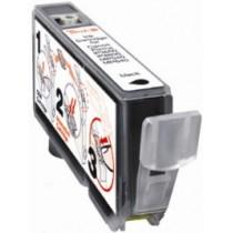 CLI-521BK Cartuccia Inkjet Con Chip Compatibile Nero Per Pixma Mp 540, Mp 620, Mp 630, Mp 980, Ip 3600 2933b001
