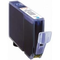 CLI-8C Cartuccia Inkjet Con Chip Compatibile Ciano Per Pixma Mp 500, Mp 510, Mp 520, Mp 530, Mp 600 0621b001