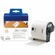 DK-11202 Nastro bianco 62X100 MM 300ETICHETTE per Brother P-Touch QL1000 1050 1060