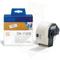 DK-11208 Nastro bianco 38X90 MM 400ETICHETTE per Brother P-Touch QL1000 1050 1060
