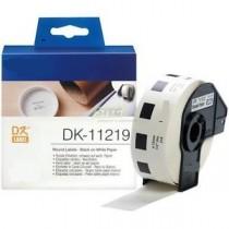 DK-11219 Nastro bianco 12 MM 1200ETICHETTE per Brother P-Touch QL1000 1050 1060