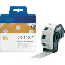 DK-11221 Nastro bianco 23X23 MM 1000ETICHETTE per Brother P-Touch QL1000 1050 1060