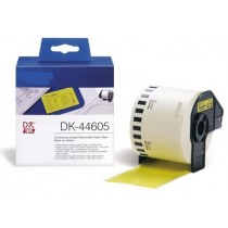 DK-44605 Nastro giallo 62X30.48 MM per Brother P-Touch QL1000 1050 1060
