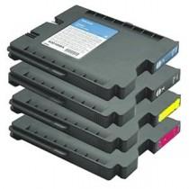 GC21C - Cartuccia inkjet compatibile Ciano per Ricoh Aficio Gx 3000, 3050N, 5050N, 2500, 3000 S. Compatibile con K202C. Codice C