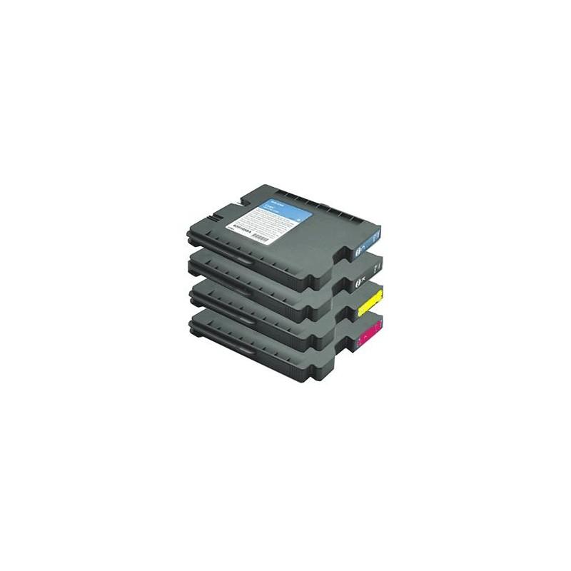GC21K - Cartuccia inkjet compatibile Nero per Ricoh Aficio Gx 3000, 3050N, 5050N, 2500, 3000 S. Compatibile con K202BK. Codice C