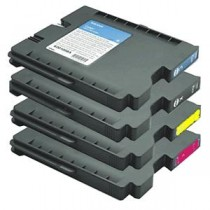 GC31HY - Cartuccia inkjet compatibile Giallo per Ricoh Aficio Gx e2600, e3000N, e3300N, e3350n . Compatibile con 405704 .