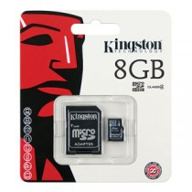KINGSTON - SDC10/8GB -MICROSDHC CLASSE 4 FLASH CARD