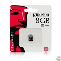 KINGSTON - SDC10/8GBSP -MICROSDHC CLASSE 4 FLASH CARD