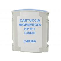 11 Cartuccia Inkjet Monouso Rigenerata Ciano Per Business Inkjet 1000, 1100, 2200, 2230,2250. Compatibile Con C4836ae. Codice Ca