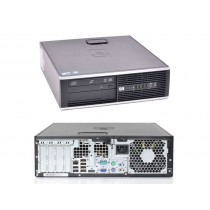 PC HP COMPAQ 8000 PRO SFF CORE 2 DUO E8400 3.0GHz 4GB RAM 200GB DVDRW LICENZA WINDOWS 7 RICONDIZIONATO GRADE A