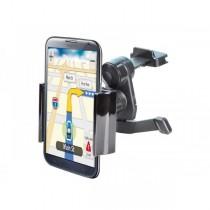 Supporto ADJ Airy per Iphone/Smartphone/Navigatore per presa d\'aria dell\'auto - Office Series - Colore Nero