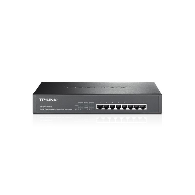 SWITCH 8P GIGABIT POE 124W 131NK RACK
