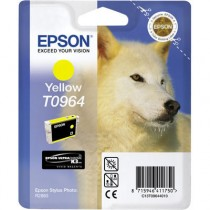T0964 - Cartuccia Originale Giallo Epson Stylus Photo R2880 . Compatibile con T09644020. Codice Cartuccia T0964.