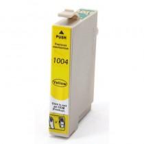 T1004 - Cartuccia inkjet compatibile  Giallo per Epson Multifunzione Stylus Office BX 600 FW, Multifunzione Stylus Sx 600 FW, St