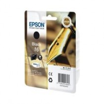 T1621 - 16 - Cartuccia originale Nero Epson Workforce WF 2010W, WF 2510WF, WF 2520NF, WF 2530WF. codice T16214020. T1621.