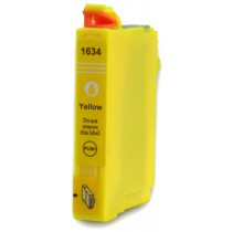 T1634 - 16XL - Cartuccia inkjet compatibile Giallo per Epson Workforce WF 2010W, WF 2510WF, WF 2520NF, WF 2530WF. Compatibile co