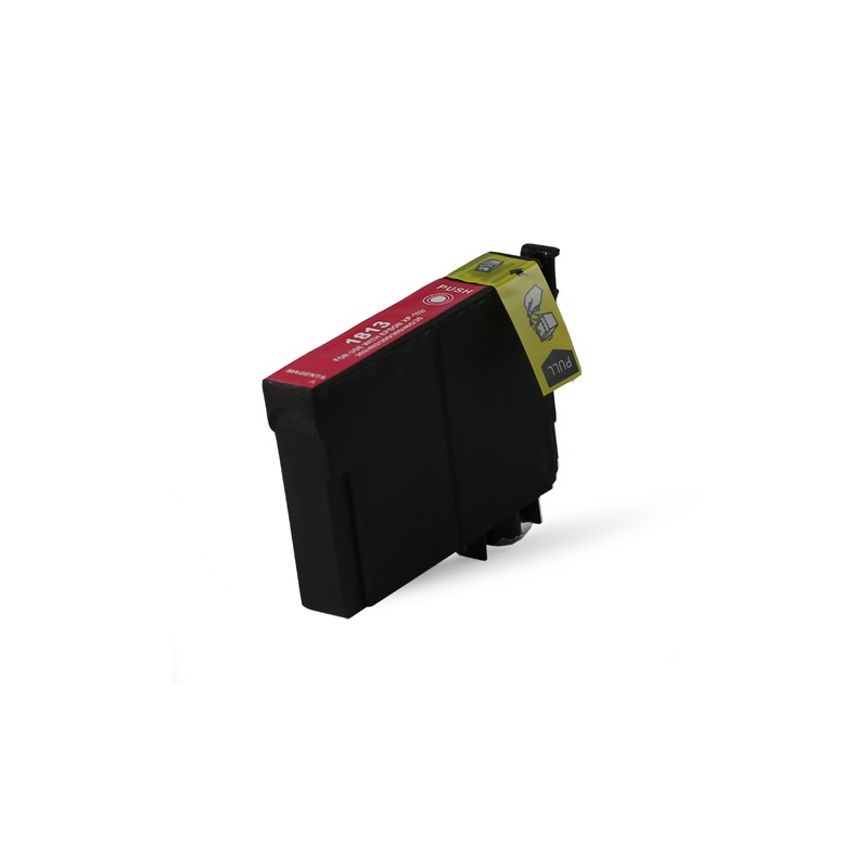 T1813 - XL - Cartuccia inkjet compatibile Magenta per Eps Expression Home XP 30, XP 102, XP 202,XP 205. Compatibile con T1813402