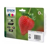 T2996 - SERIE T29XL FRAGOLA - Multipack inkjet nero + colori originale per Epson Expression Home XP235, XP332, XP335, XP432.
