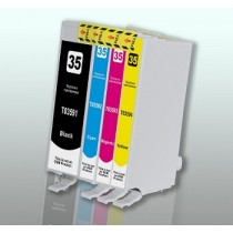 T3593 - T35XL - CATENACCIO - Cartuccia inkjet Magenta compatibile per Epson WF-4720 DWF, WF-4725 DWF e WF-4740 DTWF.