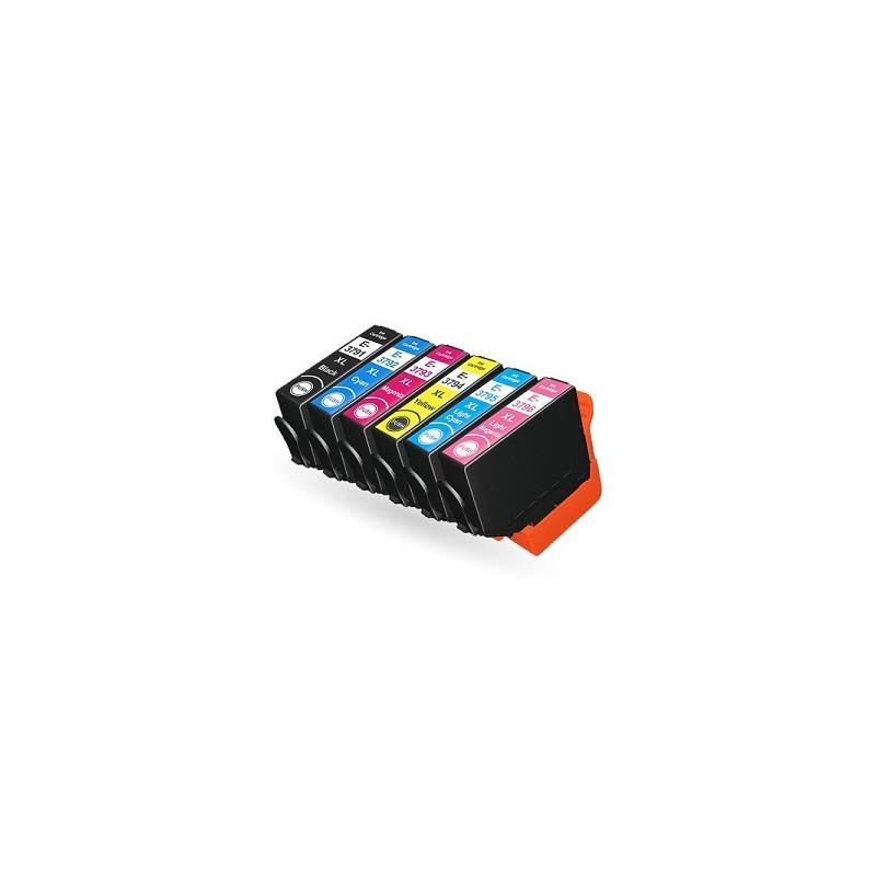 T3782XL  - SERIE 378XL - SCOIATTOLO - Cartuccia inkjet Ciano compatibile per Epson Expression Premium XP15000, 8005, 8500, 8505