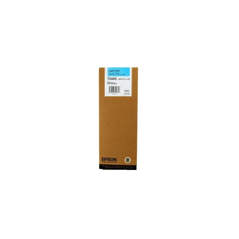 T5445 - Cartuccia di ricambio inkjet Light Ciano Pro 4000, 7600, 9600.