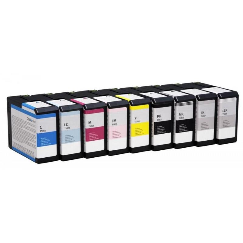 PGI-9GY Cartuccia inkjet Compatibile Grigio Pixma PRO 9500, PRO9500 II. Compatibile con 1042B001. Codice Cartuccia PGI-9GY.