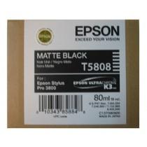 T5808 - Cartuccia originale Nero Matte Epson Pro 3800, 3800 GRAPH.