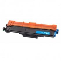 TN-247C - Toner rigenerato Ciano senza chip per Brother HL-L 3210 CW , MFC-L 3770 CDW .