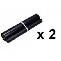TTR - 1021 - PC-74RF - Nastro Compatibile TTR - Conf. 2 pezzi per Brother Fax T7x/8x/9x/T104/T106 - TTR 1021 - 144 Pagine cadaun