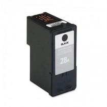 28 28A Cartuccia rigenerata inkjet Nero per Lexmark Serie X (all in one) X2500, X2530, X2550, Jetprinter Z 845, 1300. Compatibil