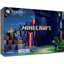 XBOX ONE S Console 1TB Minecraft Limited Edition + Minecraft