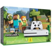 XBOX ONE S Console 500GB + Minecraft