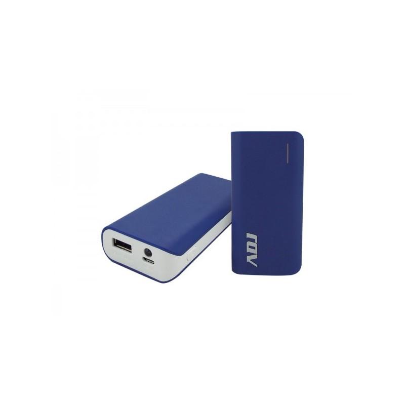 Zeus Power Bank ADJ 5600mAh per ricaricare diversi tipi di periferiche dotate di porta USB - con cavo micro USB 5V/1A incluso -
