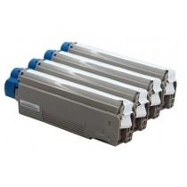 43865732 - Toner rigenerato Nero per Oki ES2232, ES2632, ES5460MFP