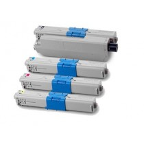444973509 - Toner rigenerato Giallo per OKI ES3452, ES5431, ES5462