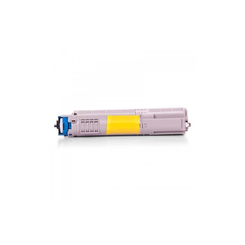 46490608 - Toner rigenerato Nero per Oki C 532 DN, 542 DN, MC 563 DN, 573 DN