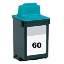60 Cartuccia inkjet Colori rigenerata, per Compaq IJ 600, Lexmark Dex 2200, Jetprinter Z 12, 22, 32. Compatibile con 17G0060. Co