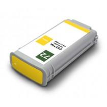 72 - Cartuccia inkjet Rigenerata giallo per HP Designjet T610, T1100, T620, T770, T770HD