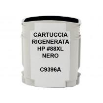88XL Cartuccia inkjet monouso rigenerata Nero per HP Officejet PRO K550, PRO K5400, PRO L7400, PRO L7580, PRO L7680. Compatibile