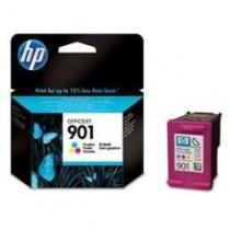 901- CARTUCCIA ORIGINALE COLORI HP OFFICEJET J4524, J4580, J4680, J4624, J4660 AIO. COMPATIBILE CON CC656AE. CODICE CARTUCCIA: 9