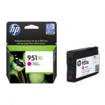 951XL - CARTUCCIA ORIGINALE MAGENTA HP OFFICEJET PRO8100. COMPATIBILE CON CN047AE. CODICE CARTUCCIA 951XL.