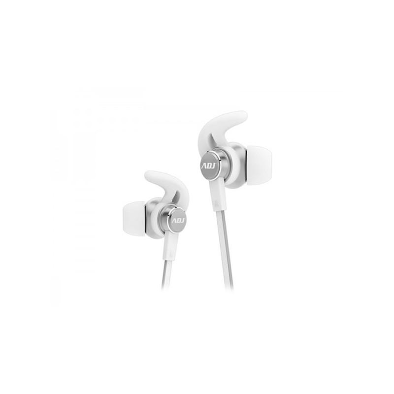 Auricolare ADJ CF800 Midnight Premium Earphone colore grigio/bianco con Microfono - Buona riduzione del rumore dall\'ambiente ci