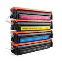 CF543A - 203A Toner rigenerato Magenta per HP Laserjet Pro M254dnw, Pro M254dw, Pro M254nw, M280Series, M280nw, M281fdn, M281fdw