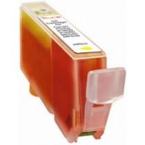 CLI-521Y Cartuccia Inkjet Con Chip Compatibile Giallo Per Pixma Mp 540, Mp 620, Mp 630, Mp 980, Ip 3600 2936b001