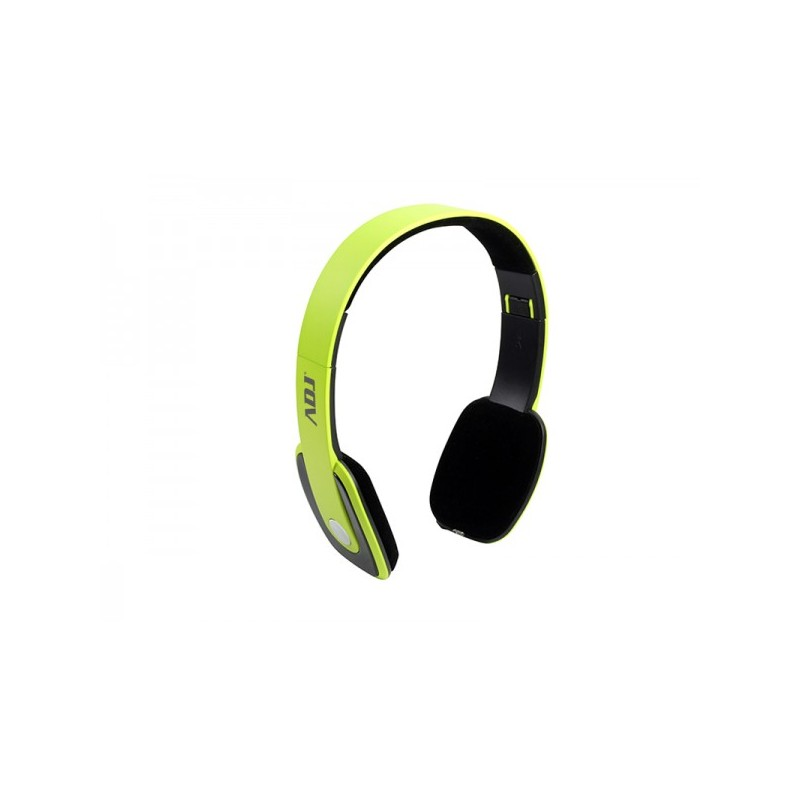 Cuffia ADJ CF002 Freedom 2 Bluetooth® Headset Lime Pro Series con microfono vivavoce e controllo volume dalla Potenza in uscita