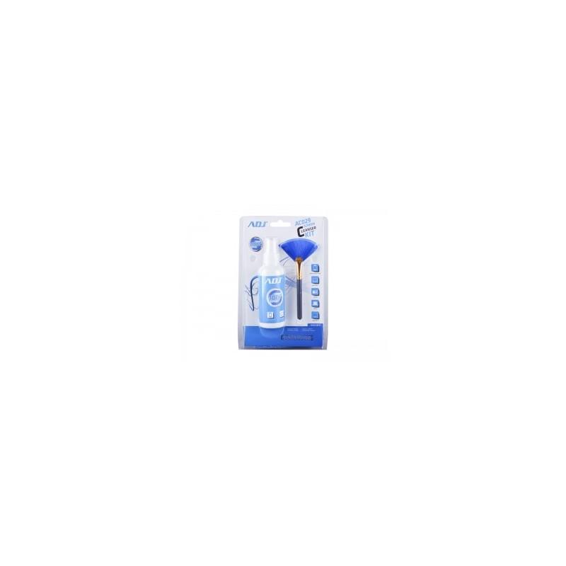 Detergente spray ADJ AC029 Lcd Cleanser Kit per la pulizia degli schermi LCD con pennellino e panno in microfibra inclusi - Capa