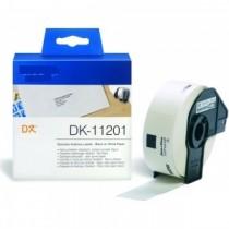 DK-11201 Nastro bianco 29X90 MM 400ETICHETTE per Brother P-Touch QL1000 1050 1060