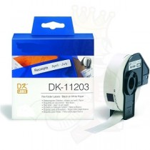 DK-11203 Nastro bianco 17X87 MM 300ETICHETTE per Brother P-Touch QL1000 1050 1060