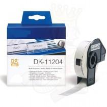DK-11204 Nastro bianco 17X54 MM 400ETICHETTE per Brother P-Touch QL1000 1050 1060
